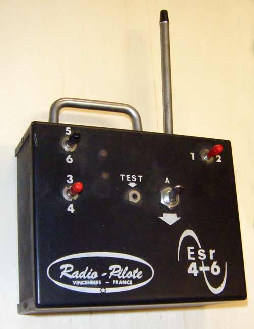 blade 200 srx et radio Radio-pilote